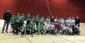 Kesjár Floorball VS Phoenix Fireball SE U 13
